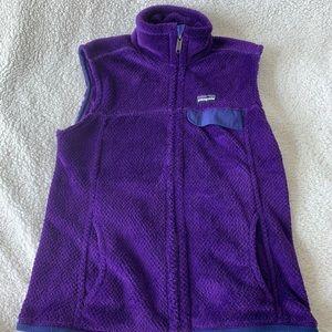 Patagonia Re-Tool Vest in Purple M